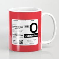 My Blood Type is O, for Outstanding! Mug