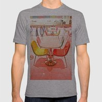 Bright Chairs Mens Fitted Tee Athletic Grey SMALL