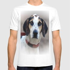 Hound 2 Mens Fitted Tee White SMALL