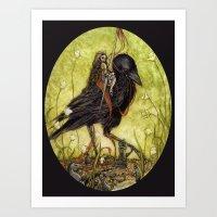 Black Knight Art Print