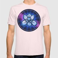 Hope In Nullity Mens Fitted Tee Light Pink SMALL