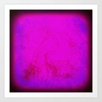 Rothko Inspired Visceral Art Print