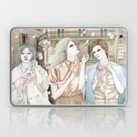 Soap Bubbles In The City Laptop & iPad Skin