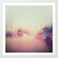Rainy Reflections Art Print