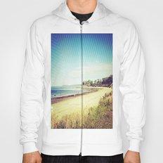 beach. Hoody
