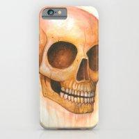 deaths grinning head iPhone 6 Slim Case