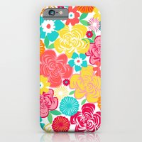 Big Summer Floral iPhone 6 Slim Case