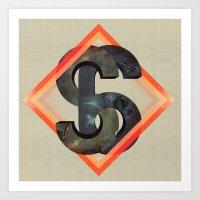 S6:  Society6 Universe Art Print