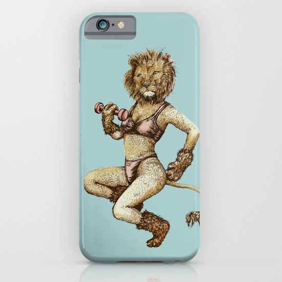 Lioness Fitness iPhone & iPod Case