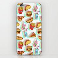 Rainbow Fast Food iPhone & iPod Skin