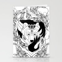 Glam-Bear Stationery Cards