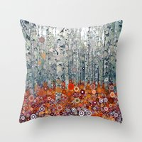 :: Run Free Woods :: Throw Pillow