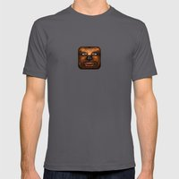 Chewbacca Mens Fitted Tee Asphalt SMALL