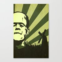 The Frankenstein Monster Canvas Print