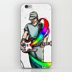 Guitarist (Colour My World) iPhone & iPod Skin