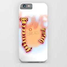 love socks iPhone 6s Slim Case