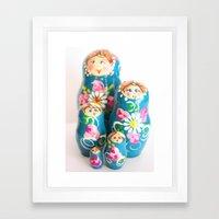 Matrioska Framed Art Print
