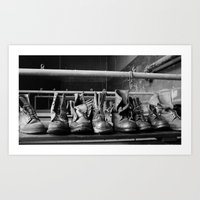 Its Quitting Time! Art Print