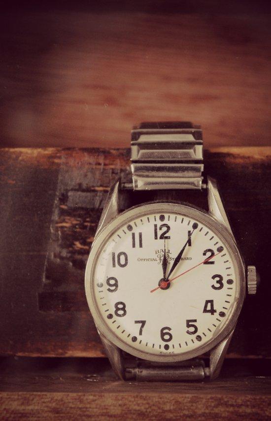 Vintage Watch Art Print