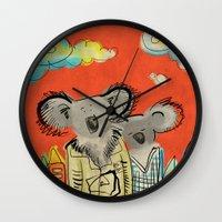 Koalas Wall Clock
