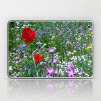 Wild Flower Meadow Laptop & iPad Skin