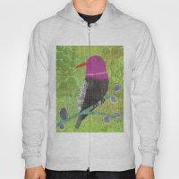 Fuchsia Bird Hoody