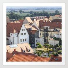 Hahnemann-Haus in Torgau Art Print
