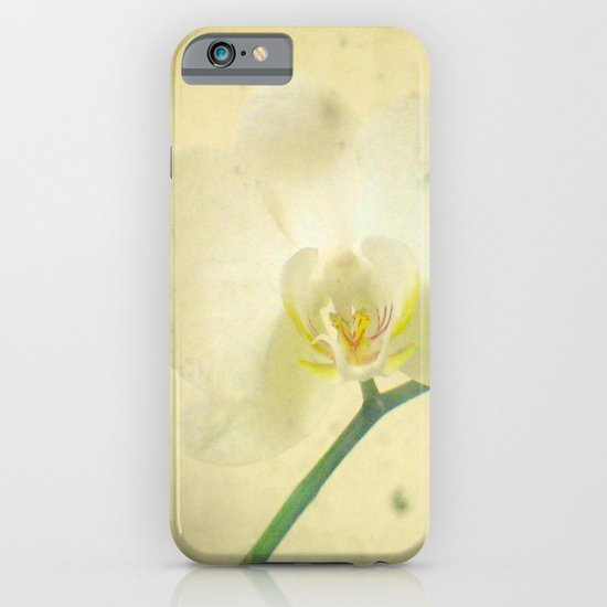 White Orchid iPhone & iPod Case