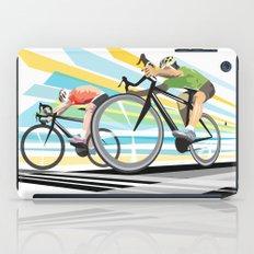 Illustration Graphic Design: Finish Line iPad Case