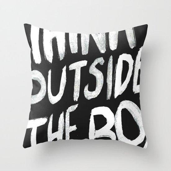 The Box Throw Pillow