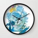 i love my planet 2 Wall Clock