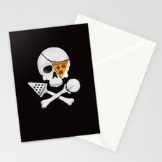 Pizza Raider Stationery Cards