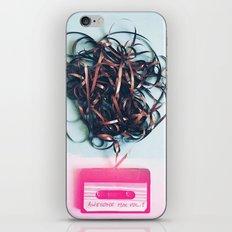 Retro mix tape iPhone & iPod Skin