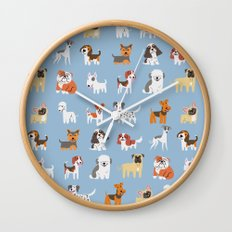 ENGLISH DOGS Wall Clock