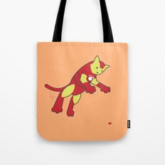 The Invincible IronCat Tote Bag
