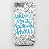 Excepte Vous Amour iPhone 6 Slim Case