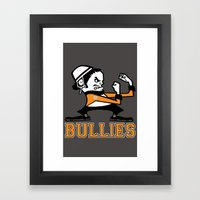 Bullies of Broad Street  Framed Art Print