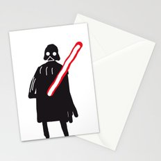 you are drawing vader Stationery Cards