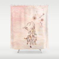 The Little Kitty  Shower Curtain