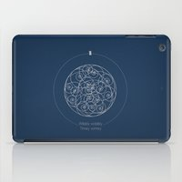 Doctor Who: Wibbly Wobbl… iPad Case