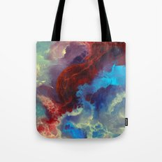 Everything begins with a spark Tote Bag