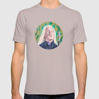 Lucius Malfoy Mens Fitted Tee Cinder SMALL