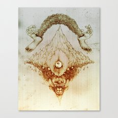 Wolf Mountain Canvas Print