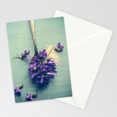 Sweet Violets Stationery Cards