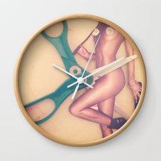 cut it out Wall Clock