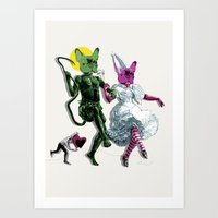 Dance, Chauncey, Dance -… Art Print