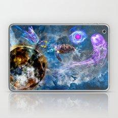 Space Swim Laptop & iPad Skin