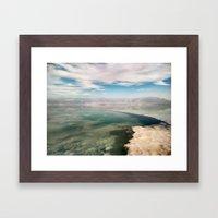 Dead Sea #4 Framed Art Print