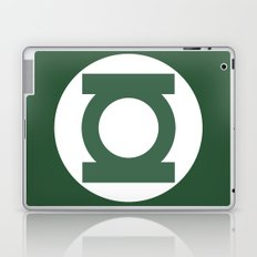 Green Lantern Vector Logo Laptop & iPad Skin