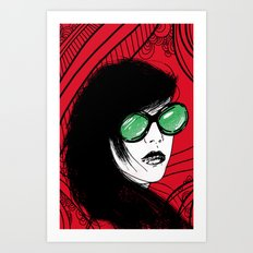 Distorted Vision Art Print